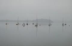 Morning mist (fareedom9) Tags: mist reflection water lochlomond
