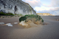 FIRST LIGHT OVER BOTANY BAY  -  (Selected by GETTY IMAGES) (DESPITE STRAIGHT LINES) Tags: morning sea england sunlight seaweed beach nature water beauty rock digital sunrise bay coast kent seaside sand aperture nikon rocks flickr surf day dof tide tripod shoreline iso coastal shore soul getty coastline naturalbeauty botanybay tidal mothernature magichour taming goldenhour gettyimages manfrotto heathen broadstairs themagichour thegoldenhour paulwilliams lowlightphotography outdoorphotography sunrisephotography sigmawideangle botanybaykent sigma1024mm d7000 nikongp1 botanybaybroadstairs nikond7000 yahooprojectweather despitestraightlines sunriseoverbotanybay botanybayinbroadstairs