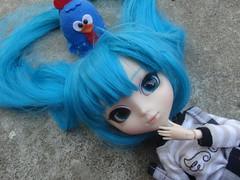 Feliz Aniversrio de 1 ano! : Minzy (Meteor-a) Tags: aniversario cute galinha doll kawaii pullip hatsune miku minzy pintadinha