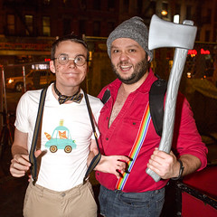 094A4088 v2 (Wheels Down) Tags: nyc silly cute nerd halloween costume lumberjack