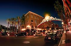 Gaslamp District (beelzebub2011) Tags: california usa night sandiego gaslampdistrict 15mmfisheye