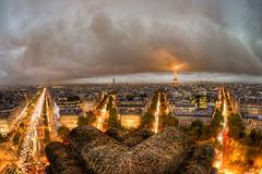 Bad Weather in Paris