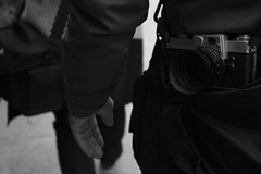 let's go for photoshooting (christos fousekis) Tags: street camera wallpaper white man black monochrome photo with walk suit photograph shooting