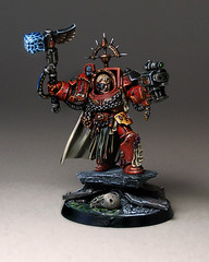 Captain Karlaen (Duca Strige) Tags: infantry angel blood 40k warhammer terminator squad alphaeus deathstorm