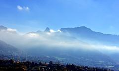 Brume matinale (Diegojack) Tags: paysages vevey montagnes lavaux rochersdenaye dentdejaman brumes