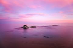 Pink Sunset (canonixus1) Tags: canon atardecer rosa jpg barcas hitech roca haida canon1740 heliopan canonixus1 filtlros