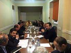 Reunião da Secretaria-Geral com a Distrital do PSD Lisboa AO