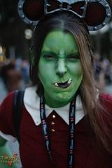 Blizzcon 2015 (V Threepio) Tags: green costume outfit cosplay disney mickey worldofwarcraft warcraft elf fantasy blizzcon videogame warrior diablo starcraft computergame orc blizzardentertainment blizzcon2015