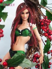 Angel Holly (kingdomdoll) Tags: holiday beauty holly resin resinfashiondoll kingdomdoll kingdomdollbrigantes kingdomdollholly