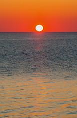 Falling (stevenbulman44) Tags: blue sky orange sun water interesting time horizon tripod filter lee pei gitzo gnd 70200f28l
