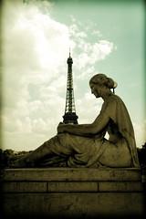 Waiting (Cranamanor13) Tags: paris france tower eiffel andrewwilson