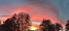 sunset from my driveway (mimbrava) Tags: sunset panorama mimbrava allrightsreserved frommydriveway mimbravastudio mimeisenberg