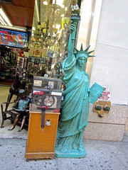 Statue of Liberty, New York, NY (Robby Virus) Tags: street nyc newyorkcity ny newyork statue lady liberty for store sale manhattan landmark sidewalk bigapple
