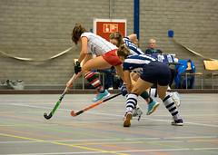 PC120178 (roel.ubels) Tags: hockey sport arnhem indoor 2015 topsport zaalhockey hoofdklasse valkenhuizen