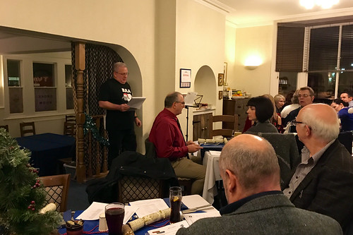 Dave kicks off Toastmasters