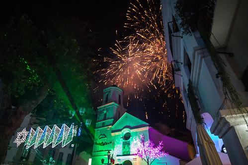 Christmas Eve Fireworks, Nerja