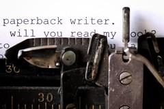 Paperback writer (Rod Anzaldua) Tags: typewriter vintage paper lyric lyrics máquina escribir letras vieja macromondays inspiredbyasong macro monday wow