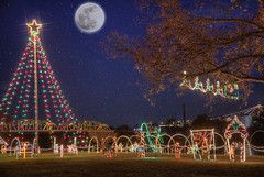 Starry Starry Nights in Llano, Texas 14 (Largeguy1) Tags: approved starrystarrynightsinllano texas landscape christmaslights moon hdr canon 5dsr