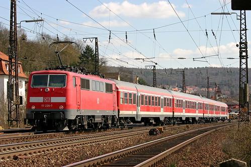 DB Regio 111 226-7 Gemünden