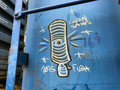 (o texano) Tags: houston texas graffiti trains freights bench benching lamps moniker