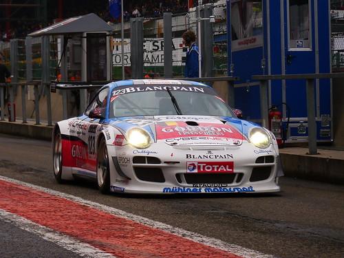 Porsche 911 GT3R (Fumal-Thiry-Rosenblad-Lefort)