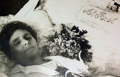 In Repose (Midnight Believer) Tags: death coffin casket corpse dead funeral wake repose retro 1940s unknown postmortem