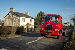 BRS Bristol HA6L - NEG 863 (Ben Matthews1992) Tags: lymm cheshire boxingday run road old vintage historic preserved preservation vehicle classic commercial lorry truck wagon waggon brs british services bristol artic articulated tractorunit 1961 ha6l neg863 6e192 haulage winter