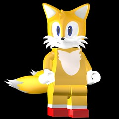 Lego Tails Render: On Lego Dimensions -Sonic Level Pack!-* This my Mod: Lego Sonic Generations: 3D Model Name: Tails (SonicOnBox) Tags: tails lego dimensions sega pose png hd 2500 sonic level pack
