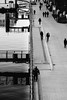 Self-Separated (Thomas Listl) Tags: thomaslistl blackandwhite noiretblanc biancoenegro tele river water people street urban