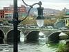 Lantern and bridge (DannyAbe) Tags: lantern bridge rochester courtstreetbridge arches lamp geneseeriver