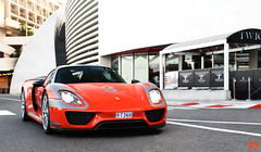 Weissach (Stingray01) Tags: 918 car cars canon city carbon carphoto spyder fastcar fast porsche porsche918 supercar sportcar super speed street special summer sigma tamron 2016 amazing monaco france awesome auto automotive germany red orange worldcars