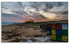 Rubiks Cube Beach (Steven Peachey) Tags: bamburgh bamburghcastle northeastcoast northumberland northeast coast canon6d ef1740mmf4l canon leefilters lee09gnd stevenpeachey lightroom beach manfrotto castle sand morning 2017 sunrise seascape