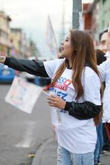 Brigadista CREO (samuraijuan) Tags: creo 21 campaña electoral 2017 ecuador andres paez politico politician vicepresidente candidato