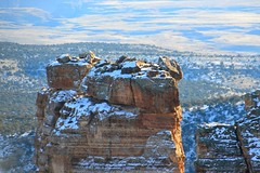Grand Canyon 137 (Krasivaya Liza) Tags: grandcanyon grand canyon national park canyons nature natural wonder az arizona holiday christmas 2016 snowy winter cliffs cliffside edgeofcliff