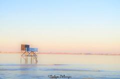 Carrelet d'Aytré (mailyse.bellanger) Tags: coucher soleil sunset plage beach aytré douceur softness couleurs colors carrelet mer sea charentemaritime