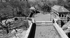 Where have all the People Gone? (CVerwaal) Tags: belvederecastle blackandwhite centralpark newyork ny usa sonyrx100iii