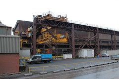 IMG_0769   British Steel, Scunthorpe (SomeBlokeTakingPhotos) Tags: britishsteel steel steelworks steelmill steelindustry stahlwerk stahl heavyindustry manufacturing industrialrailway torpedocar