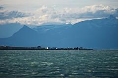 lago argentino, el calafate (nortondudeque1) Tags: argentina el calafate ushuaia patagonia tierra del fuego nikon d610 ice blue perito moreno sierra les eclaireurs sunset nimez