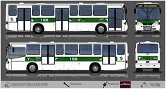 1 1538 Viação Santa Brígida - Caio Alpha - Volvo B58 (busManíaCo) Tags: busmaníaco desenho drawing drawn urbanos ônibus 1 1538 viação santa brígida caio alpha volvo b58