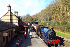 2682-18 (Ian R. Simpson) Tags: 2682 princess bagnall steam locomotive train lakesidehaverthwaiterailway loco engine