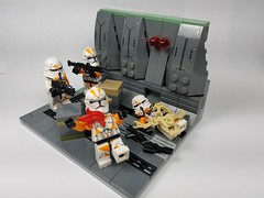 last stand (lord_nick1227) Tags: star wars lego ship nick clones 212th laststand brickarms