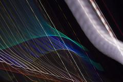 Harbour bridge light abstract (roger.xian1) Tags: abstract light longexposure laser bridge night wave line green blue blur canon 700d eos luminance contrast nsw sydney 55250mm t5i trail