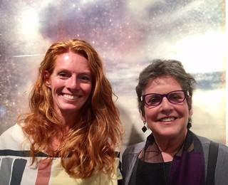Photographers Lauren Schwartzbaugh and Shirley Drevich in Lauren's Bakehouse studio