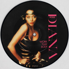 Diana Ross - Work That Body (Leo Reynolds) Tags: xleol30x squaredcircle picturedisc picture disc 45rpm record single vinyl platter 7inch sqset121 canon eos 40d xx2015xx sqset