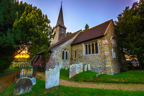 St. George's Church, Crowhurst, Surrey