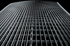 Data Flow (Skuggzi) Tags: city uk england urban blackandwhite bw abstract building london tower glass monochrome lines architecture modern facade skyscraper grid office unitedkingdom britain outdoor lookingup lookup gb rectangle futuristic technoir cityoflondon