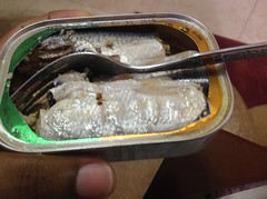 #Sardines straight out of the tin. Yum! #Brunswick