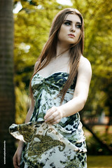 Annastasja (soundvue) Tags: beauty female garden model mood candid jakarta casual simple falsecolor cantik cewek