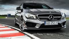 Mercedes CLA45 AMG Shooting Brake Witman Autodrom Pomorze-01487