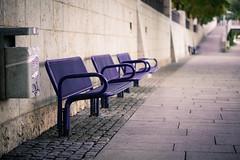 FalschFarben || FFI (BX_Orange) Tags: colour bench way bayern deutschland bank manipulation cinematic weg farben donau lightroom parkbank ingolstadt falschfarben